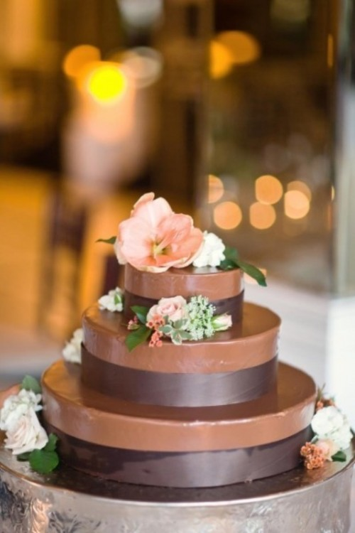 Wonderful Chocolate Cakes For Your Wedding