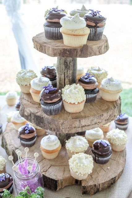 31 Creative Wedding Mini Dessert Stand Ideas