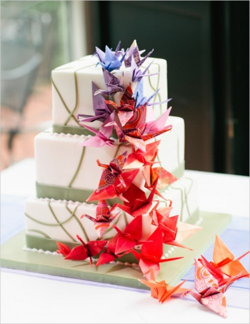 Awesome Origami Wedding Inspirational Ideas