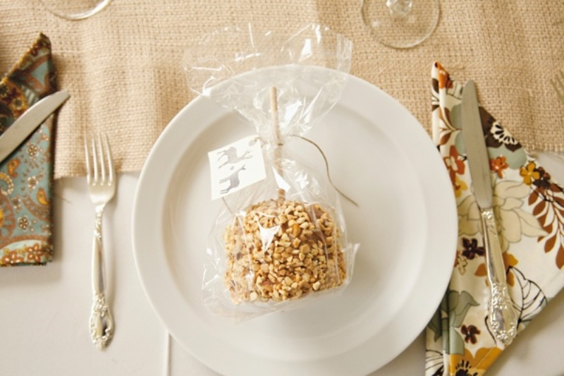 Delicious And Pretty Edible Fall Wedding Favors
