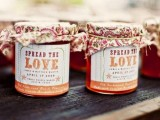 homemade apple or berry jam is delicious and your guests will be super happy to enjoy it at home, what a great and budget-savvy favor