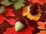 acorn candies are great and cute wedding favors for a fall celebration, buy them and please your guests