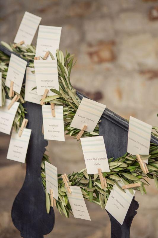 Organic Decor of organic inspired olive branch wedding decor ideas 7