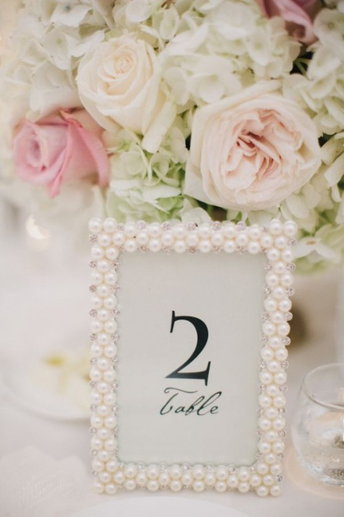 31 Prettiest Pearl Wedding Inspirational Ideas