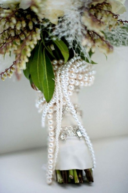 Prettiest Pearl Wedding Inspirational Ideas