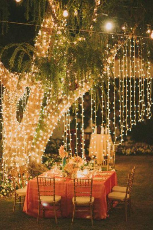 High Quality Romantic And Beautiful Destination Wedding Lightning Ideas