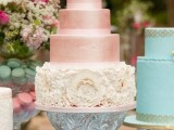 32 Romantic Light Pink Wedding Cakes
