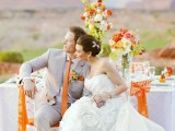 33 Cheery Orange Wedding Ideas