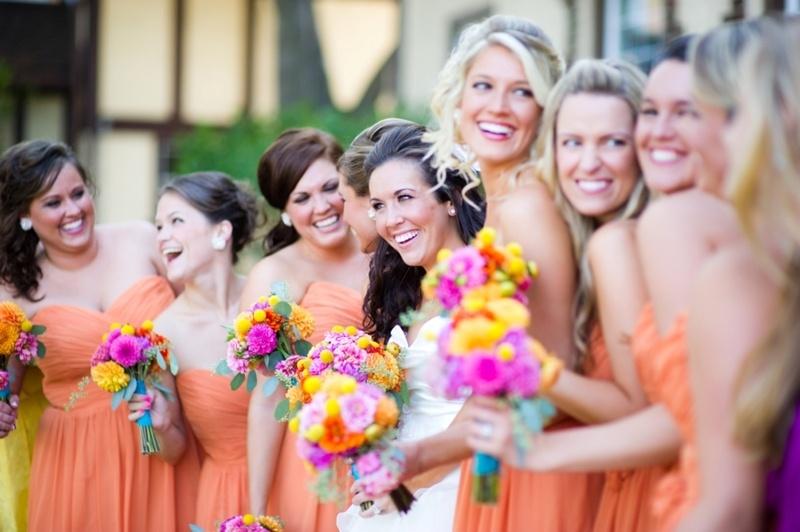 Cheery Orange Wedding Ideas
