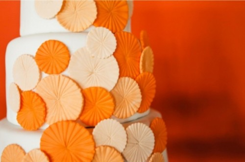 Cheery Orange Wedding Ideas