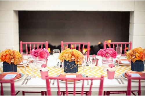 Color Pop Wedding Inspirational Ideas