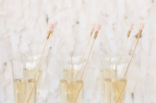 Creative Drink Stirrers To Fancify Your Wedding Cocktails