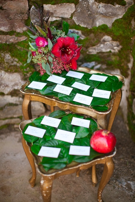 Red Green And White Winter Wedding Inspirational Ideas