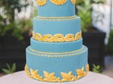33 Stunning Blue Wedding Cakes To Get Inspired