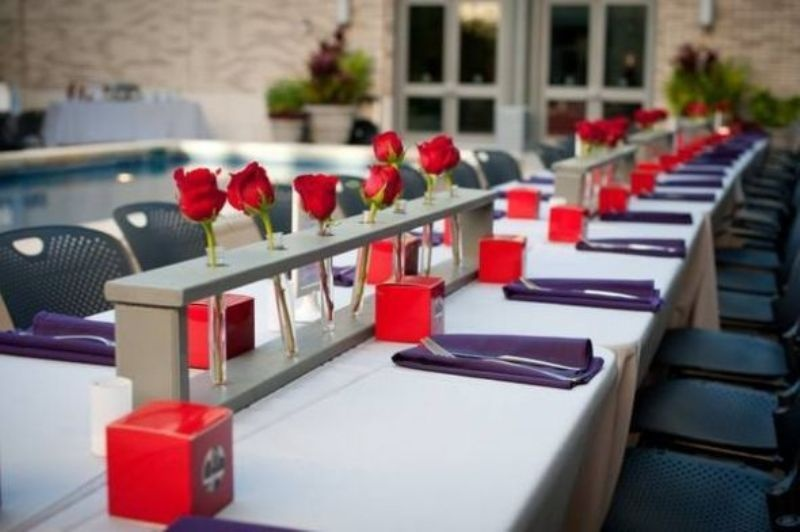 modern wedding decor.  Picture Of Stylish Modern Wedding Centerpieces To Get Inspired