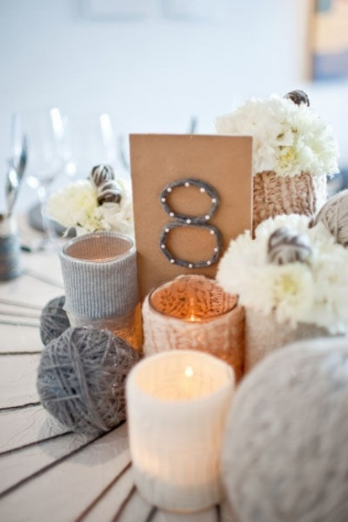 Knitted Centerpieces