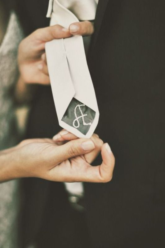 Unique Ways To Use Your Initials On A Wedding Day