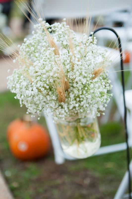 Picture Of wheat decor ideas for a rustic country wedding  32