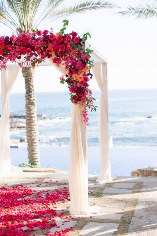 34 Awesome Tropical Wedding Ceremony Ideas