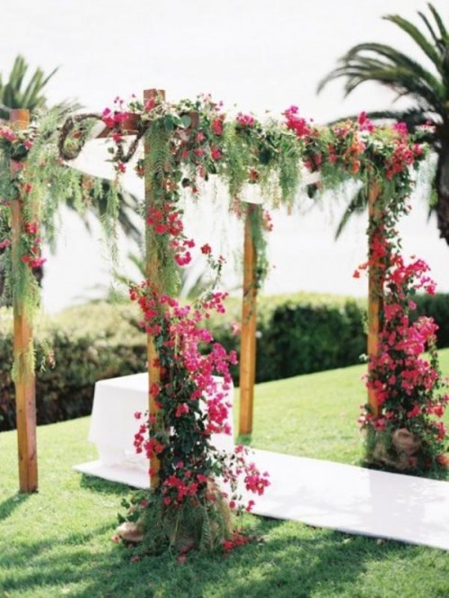 Awesome Tropical Wedding Ceremony Ideas