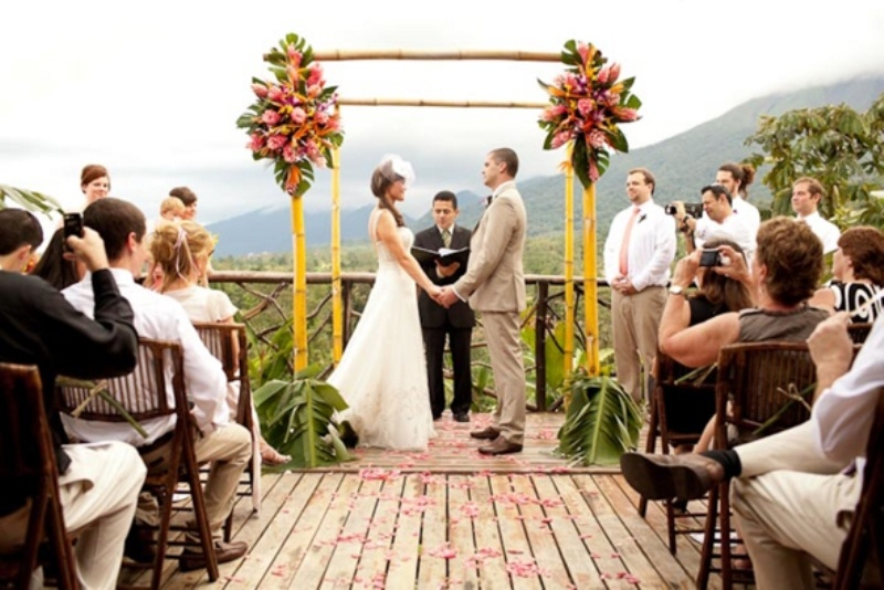 Picture Of Awesome Tropical Wedding Ceremony Ideas 24
