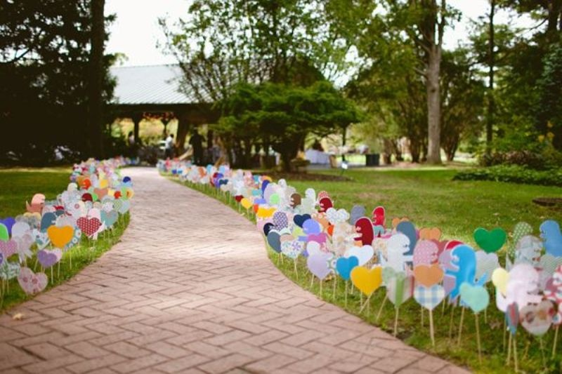34 most creative heart wedding theme ideas weddingomania most creative heart wedding theme ideas junglespirit Gallery