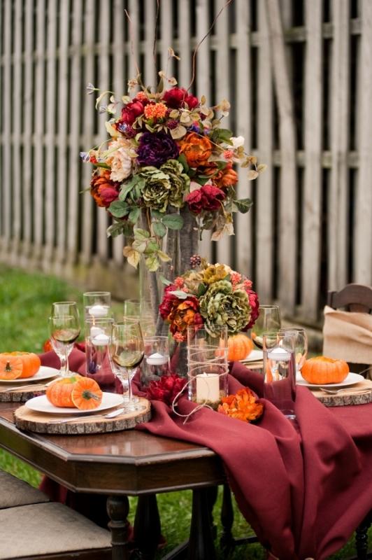 35 Amazing Fall Wedding Table Decor Ideas » Photo 3