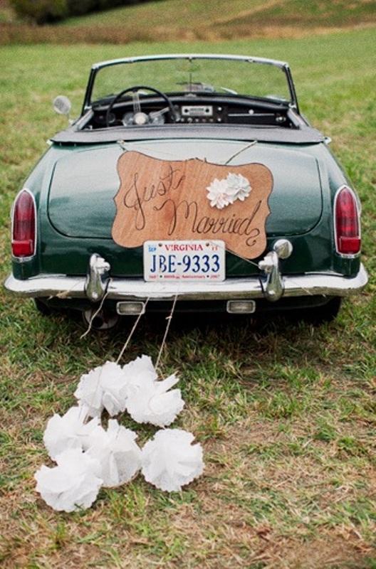 35 Cool And Creative Wedding Getaway Car Decor Ideas ...
