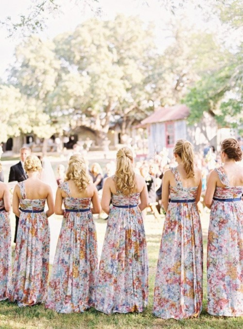Floral Fancies And Prints Wedding Inspiration