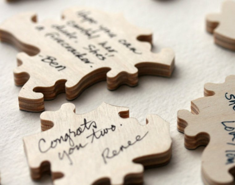 Non Traditional And Creative Wedding Guest Book Ideas