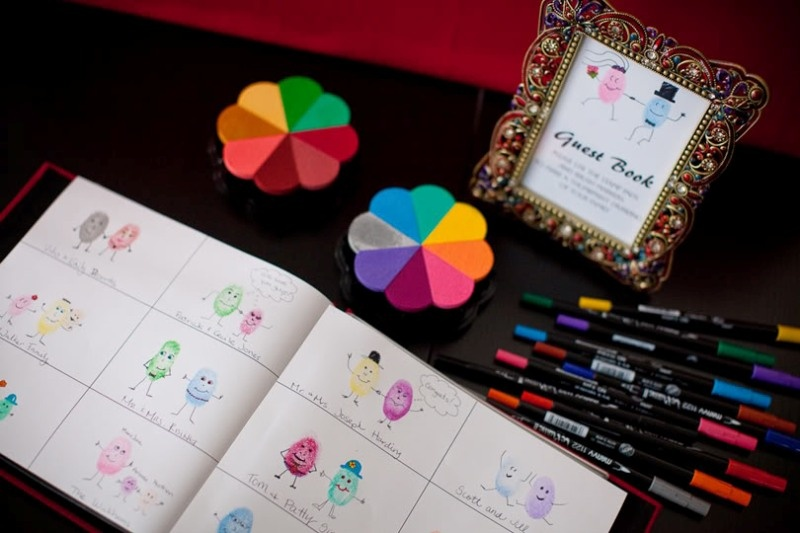 Picture Of Non Traditional And Creative Wedding Guest Book Ideas