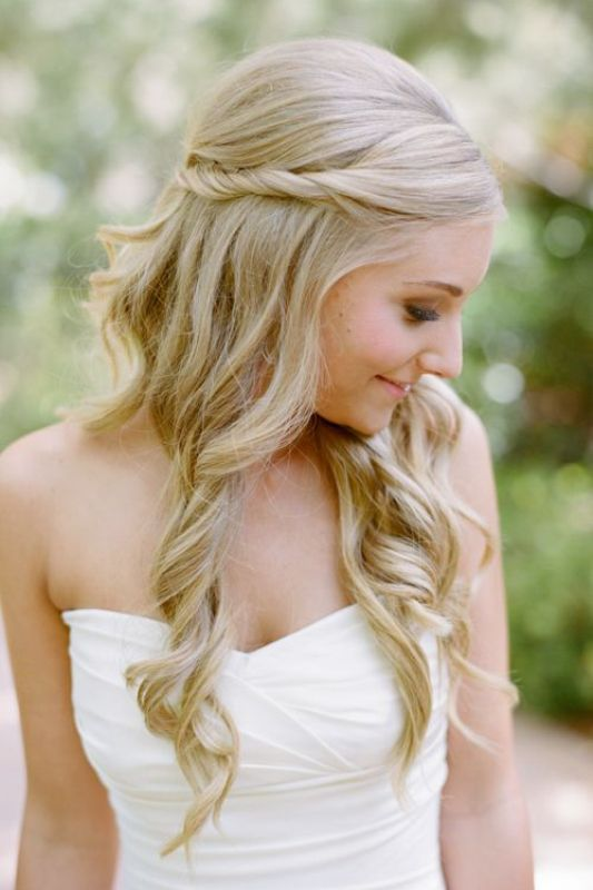 Pretty Hairstyles For Weddings