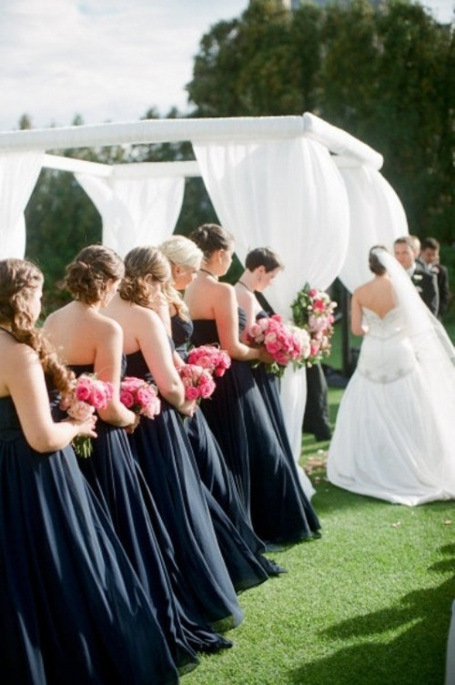 Stunning Midnight Blue Color Wedding Ideas Perfect For Fall And Winter