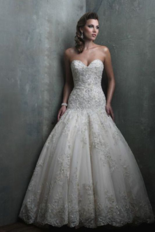 Picture Of stunning wedding dresses to feel like a princess  11