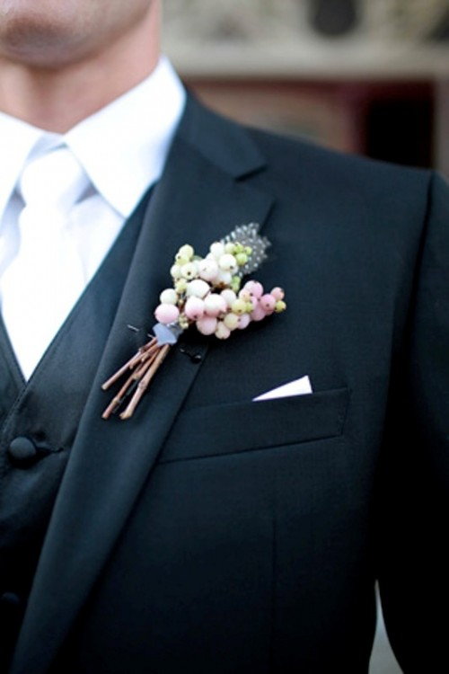 35 Unique Boutonnieres Ideas For Perfect And Special Groom ...