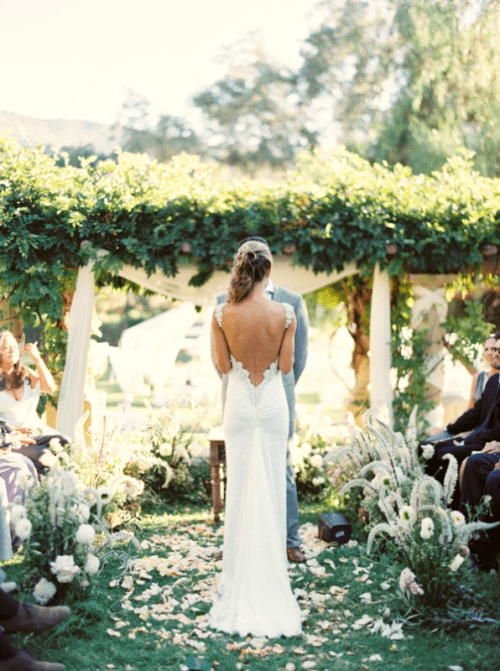 Jaw Dropping Low Back Wedding Dresses