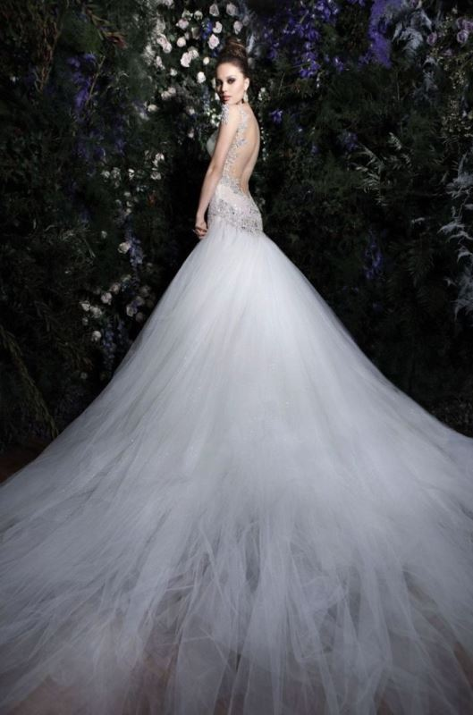 e3e4ab54bfb Picture Of jaw dropping low back wedding dresses 36