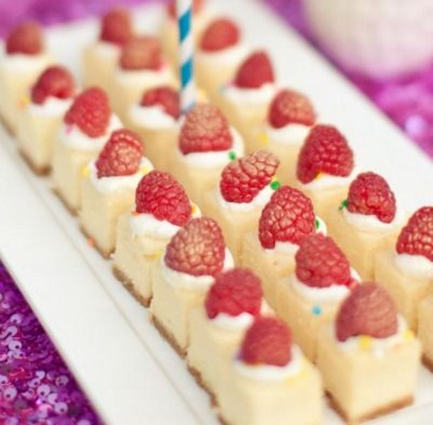 mini cakies with icing and gilded strawberries are adorable and delicious, rock them anytime