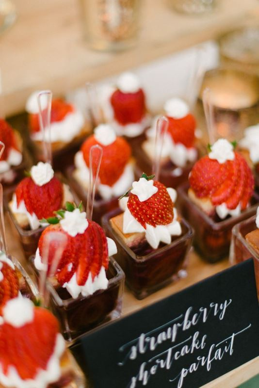 chocolate desserts topped with whipped cream and strawberries are refined, delicious and decadent