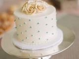 40 Wedding Polka Dot Cakes10