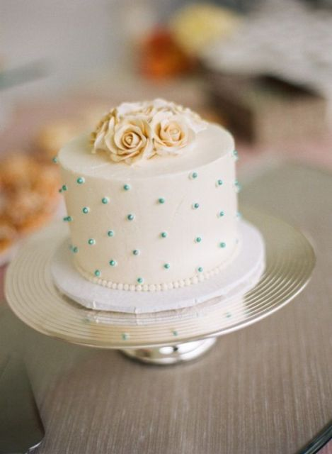 Picture Of Wedding Polka Dot Cakes 10