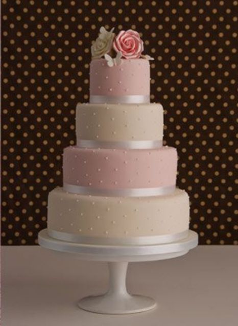 Picture Of Wedding Polka Dot Cakes 11