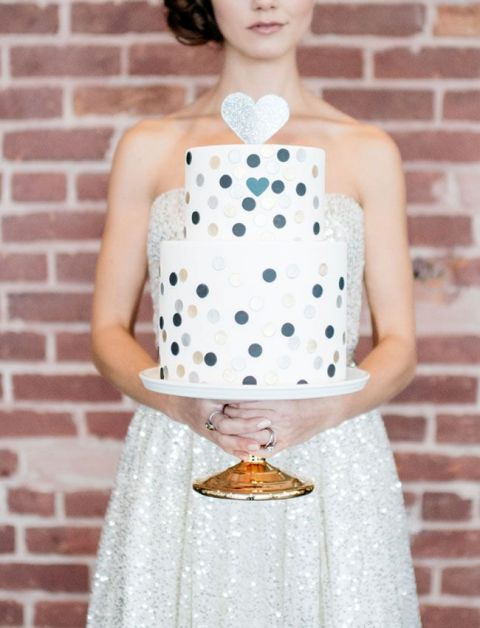 Picture Of Wedding Polka Dot Cakes 13