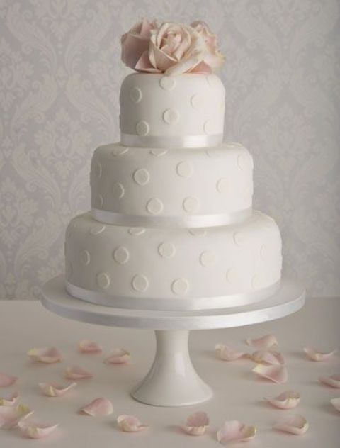 Picture Of Wedding Polka Dot Cakes 15