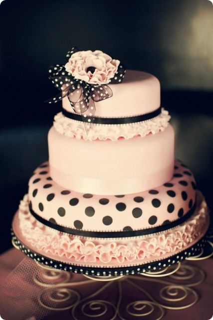 Picture Of Wedding Polka Dot Cakes 18