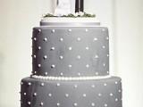 40 Wedding Polka Dot Cakes19