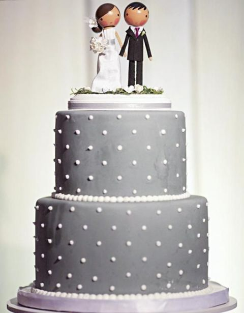 Picture Of Wedding Polka Dot Cakes 19