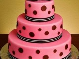 40 Wedding Polka Dot Cakes2