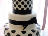 40 Wedding Polka Dot Cakes21