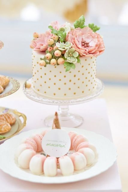 Picture Of Wedding Polka Dot Cakes 22